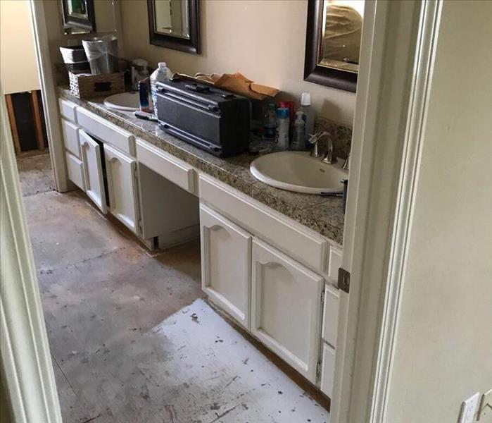 Water Damage in Danville home After
